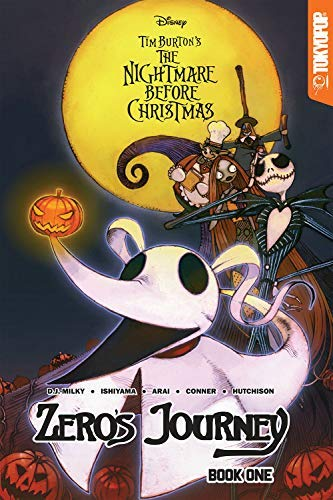 D.J. Milky Disney Manga Nightmare Before Christmas Zero's Journey Book 1