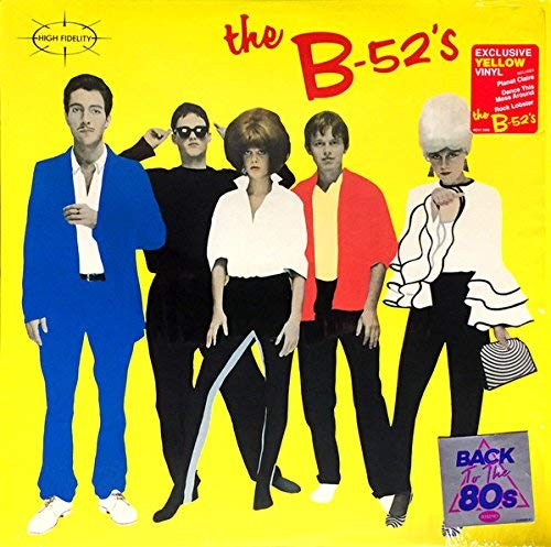 The B 52's The B 52's Yellow Vinyl Back To The 80's Exclusive