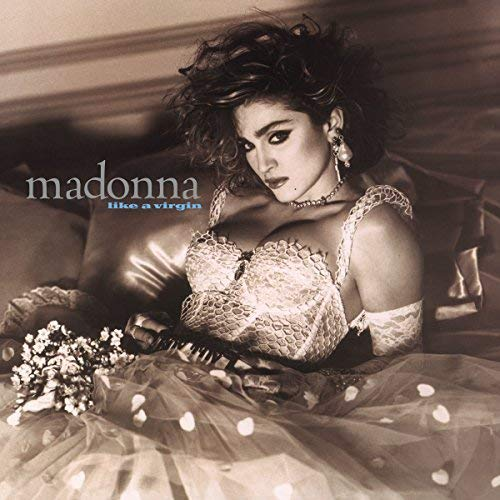 Madonna Like A Virgin (white Vinyl) Solid White Vinyl Back To The 80's Exclusive