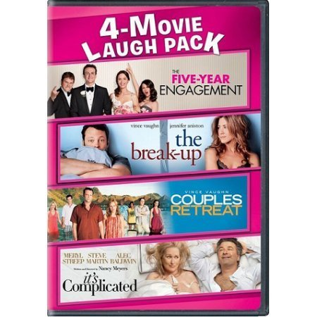 4 Movie Collection 5 Year Engagement The Break Up Couples Retreat It's Complicated