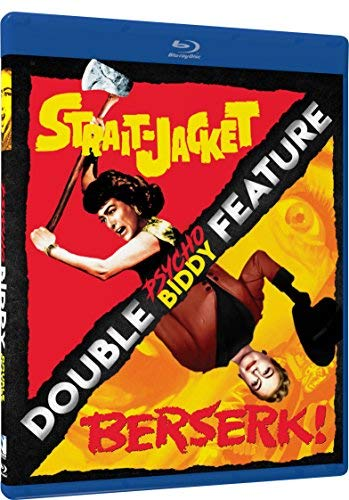 Strait Jacket Berserk Double Feature Blu Ray Nr