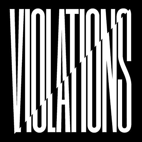 "Snapped Ankles Violations Ep 12"" Black Vinyl Ep W Dl"