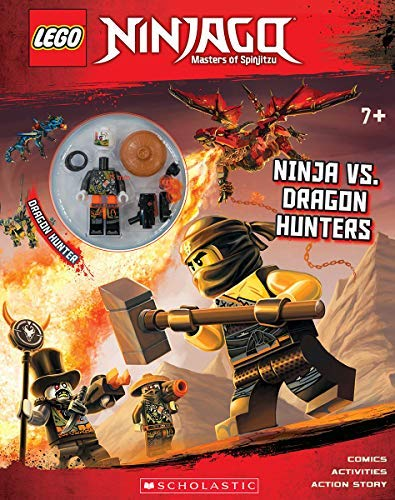 Ameet Studio Ninja Vs. Dragon Hunters [with Minifigure]