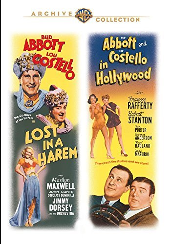Abbott & Costello In Hollywood Lost In A Harem Double Feature DVD Mod This Item Is Made On Demand Could Take 2 3 Weeks For Delivery