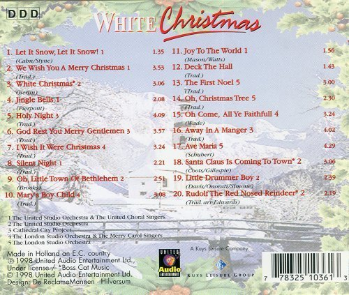 various-white-christmas