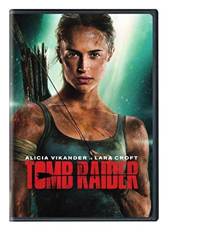 Tomb Raider (2018)/Vikander/West@DVD@PG13