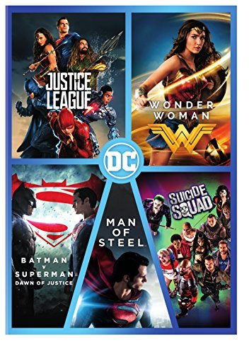 Dc 5 Film Collection DVD