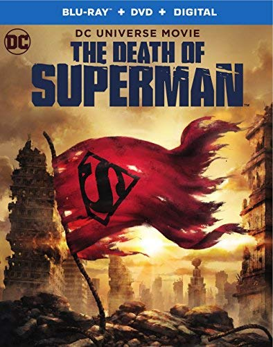 Death Of Superman Death Of Superman Blu Ray DVD Dc Pg13