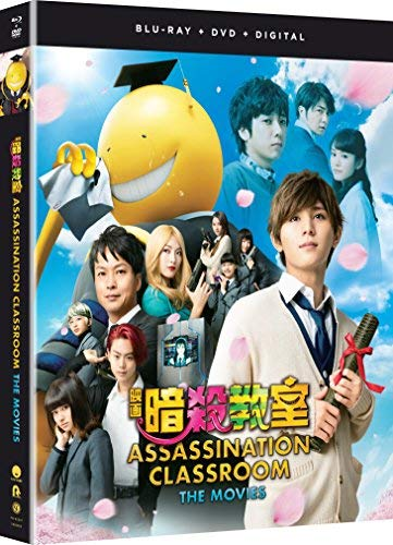 Assassination Classroom The Movies Live Action Assassination Classroom The Movies Live Action Blu Ray DVD Nr