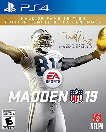 Ps4 Madden Nfl 19 Hall Of Fame Edition
