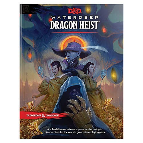 Dungeons & Dragons Dragon Heist Waterdeep