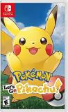 Nintendo Switch Pokemon Let's Go Pikachu!