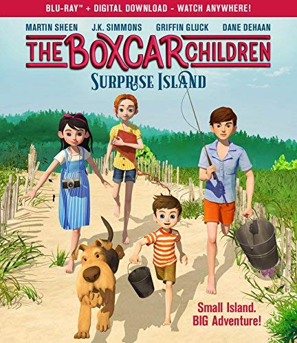 The Boxcar Children Surprise Island Blu Ray