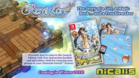 Nintendo Switch Remilore Lost Girl In The Lands Of Lore