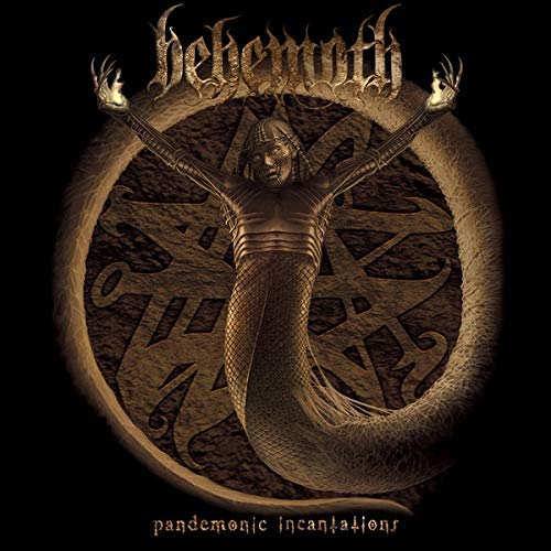 Behemoth Pandemonic Incantations (orange Vinyl) Orange Vinyl Lp