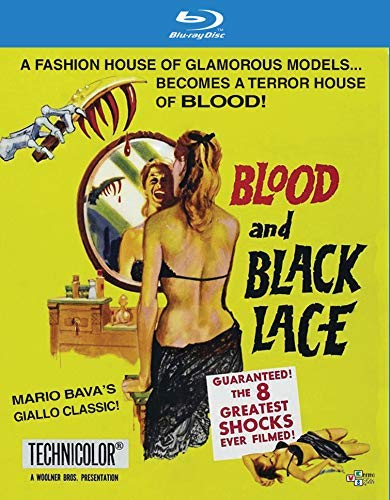 Blood & Black Lace Blood & Black Lace Blu Ray DVD Combo