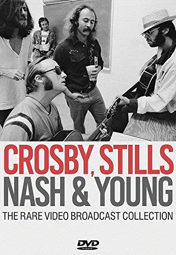 Crosby Stills Nash & Young The Rare Video Broadcast Collection