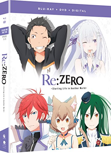 Re Zero Starting Life In Another World Season 1 Part 2 Blu Ray DVD Nr