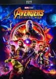 Avengers Infinity War Downey Jr. Pratt Hemsworth Evans Cumberbatch DVD Pg13