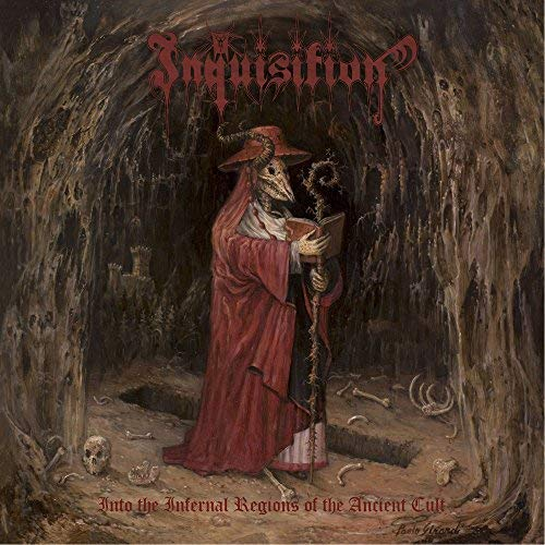Inquisition Into The Infernal Regions Of The Ancient Cult (gold Red Marble Vinyl)