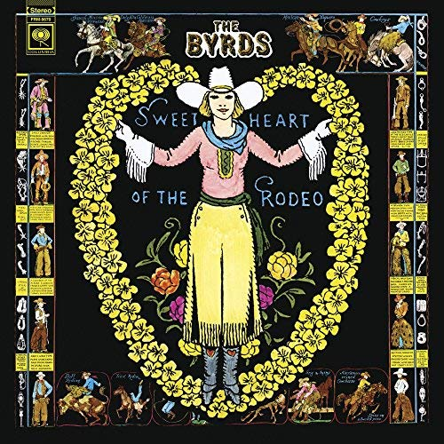 Byrds Sweetheart Of The Rodeo (blue & Green Swirl Vinyl) 180 Gram Translucent Blue & Green Swirl Vinyl Limi