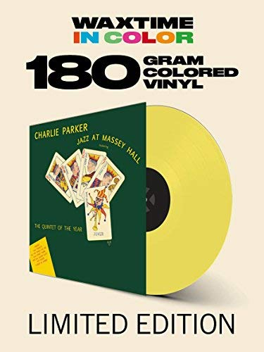 Charlie Parker/Jazz At Massey Hall@Solid Yellow Colored Vinyl