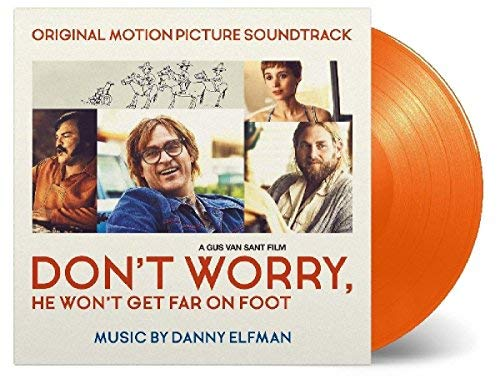 Don't Worry He Won't Get Far On Foot Soundtrack (orange Vinyl) Danny Elfman
