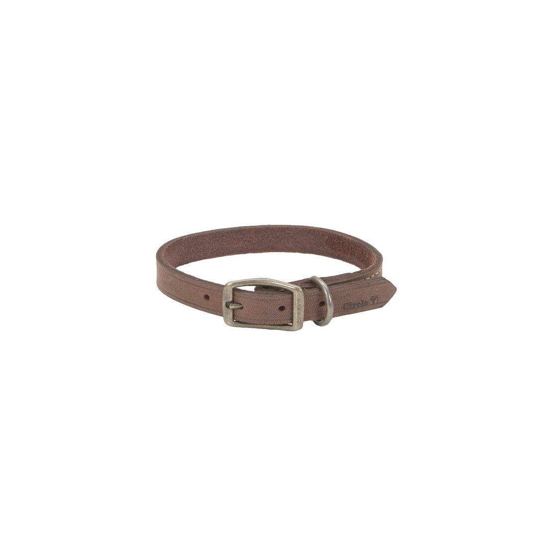 coastal-leather-collar-chocolate
