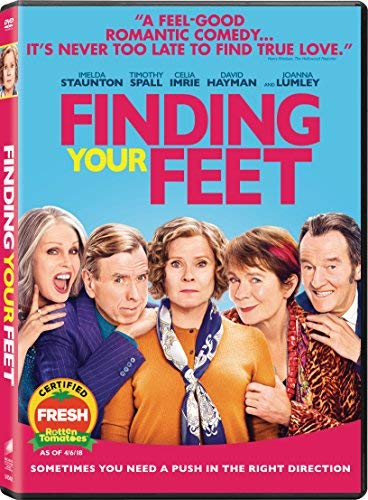 Finding Your Feet Lumley Imrie Spall DVD Pg13