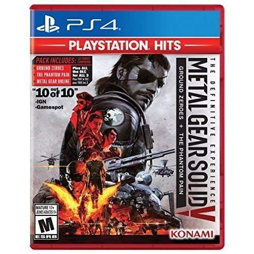 Ps4 Metal Gear Solid V Definitive Experience (playstation Hits)