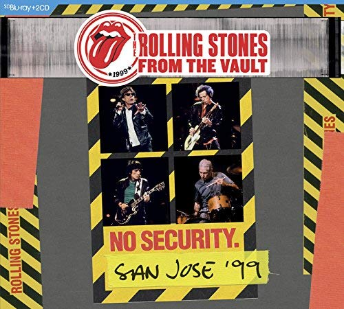 The Rolling Stones From The Vault No Security. San Jose 99 Bd 2cd Blu Ray 2cd