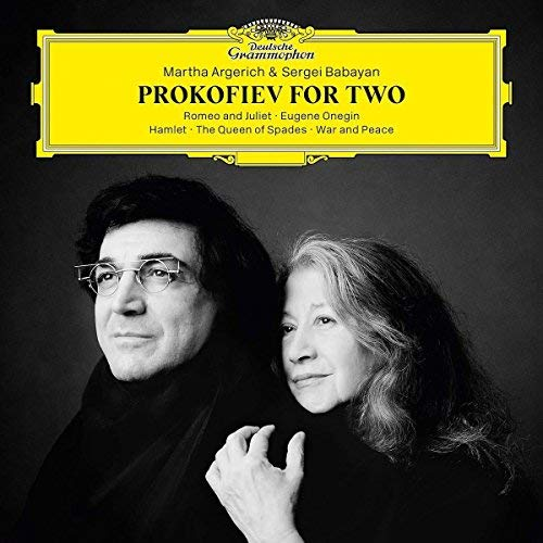 Argerich Babayan Prokofiev For Two 2 Lp