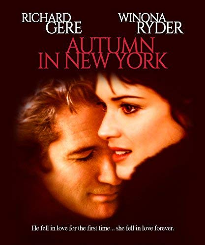 Autumn In New York Gere Ryder Lapaglia Blu Ray Pg13