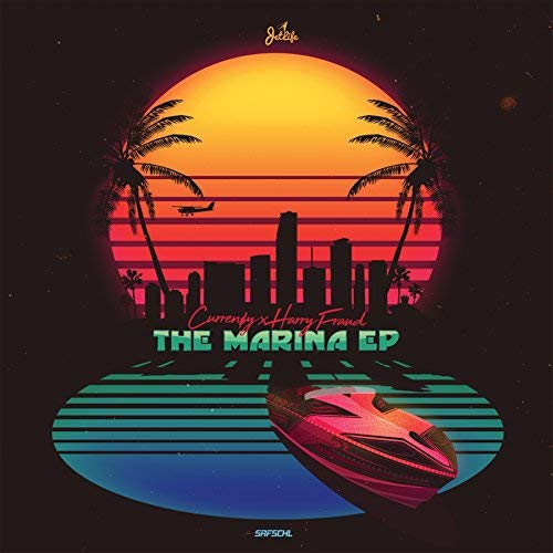 Curren$y & Harry Fraud The Marina (blue Vinyl) Blue Vinyl