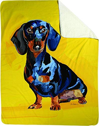 manual-woodworkers-throw-blanket-dachshund