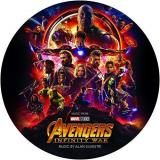 Avengers Infinity War Soundtrack Picture Disc Alan Silvestri