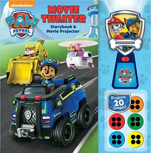 Buckley Mackenzie Paw Patrol Movie Theater Storybook & Movie Projector
