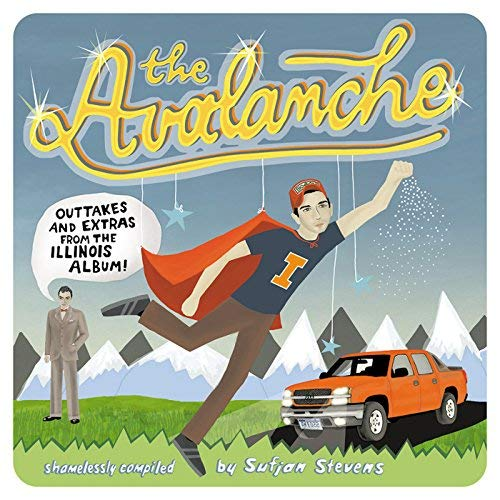 Sufjan Stevens The Avalanche (hatchback Orange (a B) And Avalanche White (c D Vinyl)