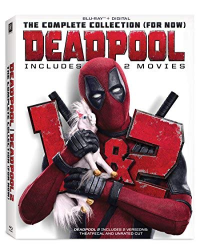 Deadpool Double Feature Blu Ray R