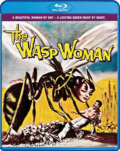 The Wasp Woman Cabot Eisley Morris Blu Ray Nr