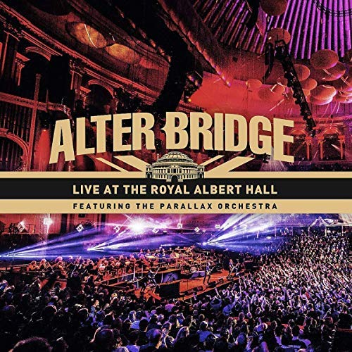 Alter Bridge Live At The Royal Albert Hall (feat. The Parallax Orchestra) Bluray+dvd+2cd