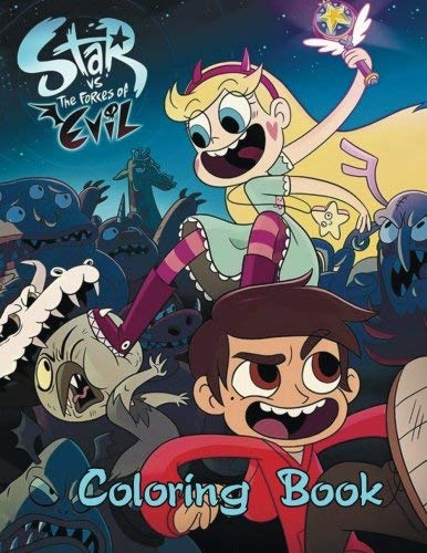 Polly Ehenhold Star Vs. The Forces Of Evil Coloring Book One Of The Best Coloring Book For Kids And Adults