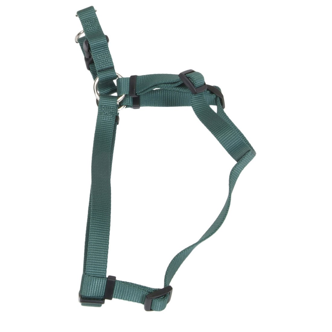 hollywood-feed-comfort-harness-hunter-green