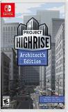 Nintendo Switch Project Highrise Architects Edition