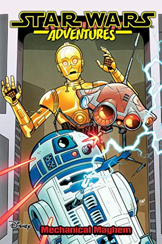 John Barber Star Wars Adventures Vol. 5 Mechanical Mayhem