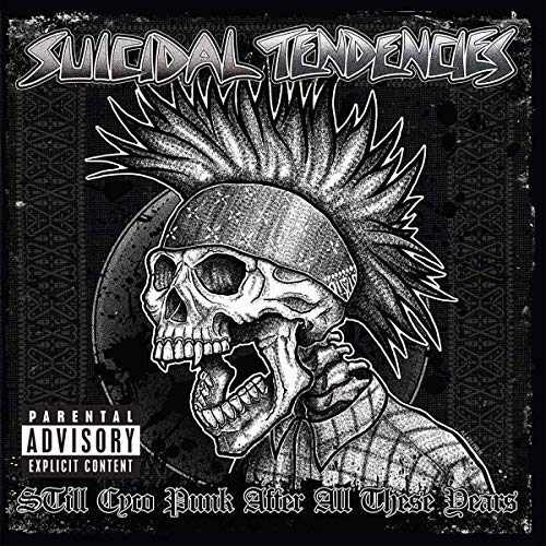 Suicidal Tendencies Still Cyco Punk After All These Years Opaque Green