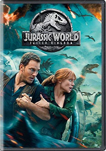 Jurassic World Fallen Kingdom Pratt Howard Goldblum DVD Pg13