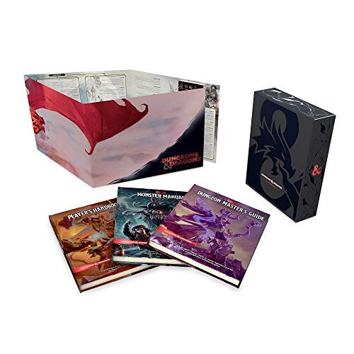 Wizards Rpg Team Dungeons & Dragons Core Rulebooks Gift Set (specia