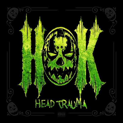 Hok Head Trauma (green & Yellow Vinyl) 2lp One Green One Yellow