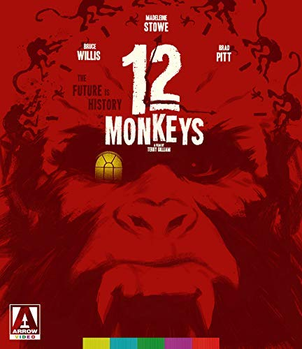 12 Monkeys Willis Pitt Stowe Blu Ray R